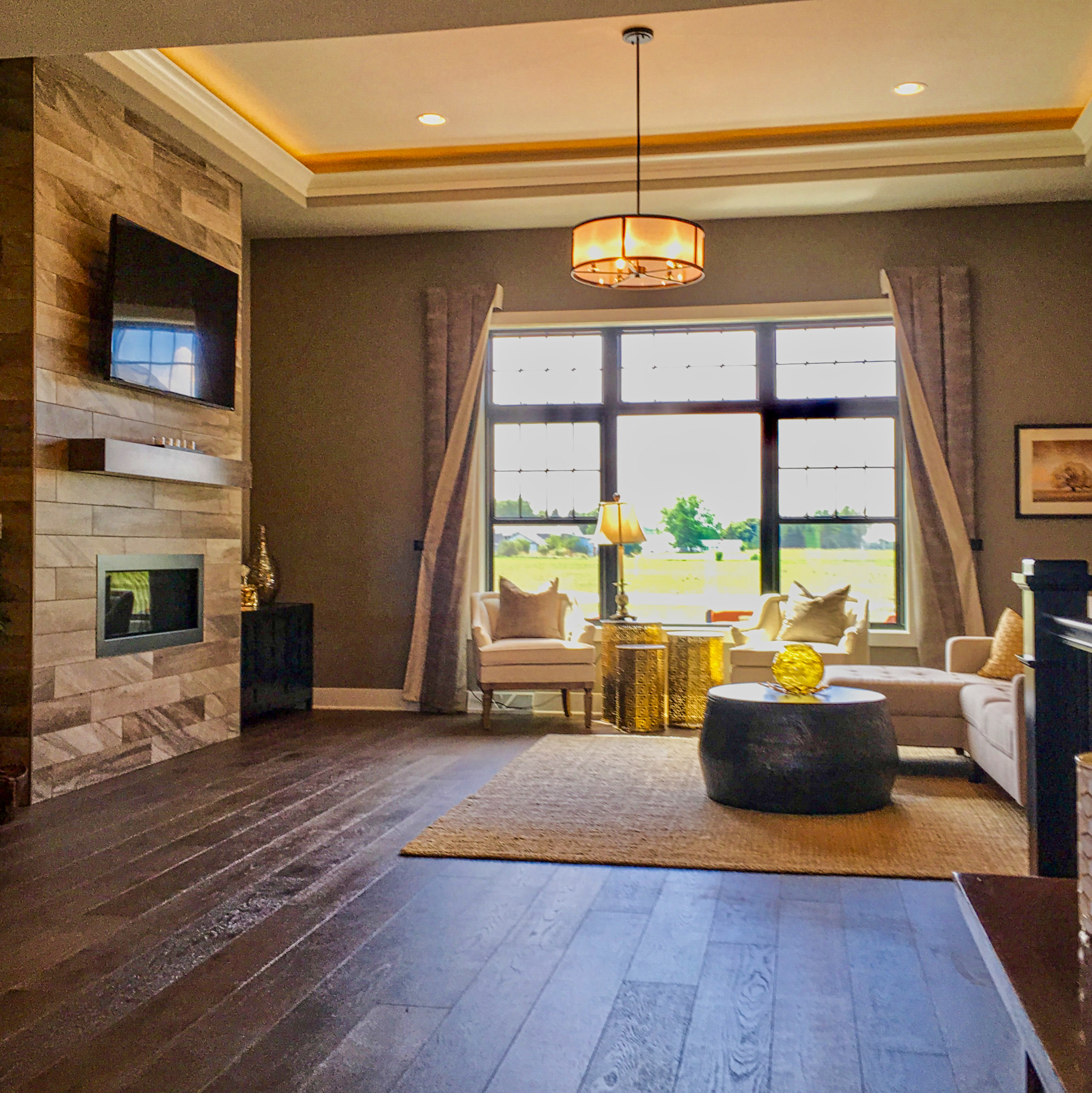 Acadia IV Living Room