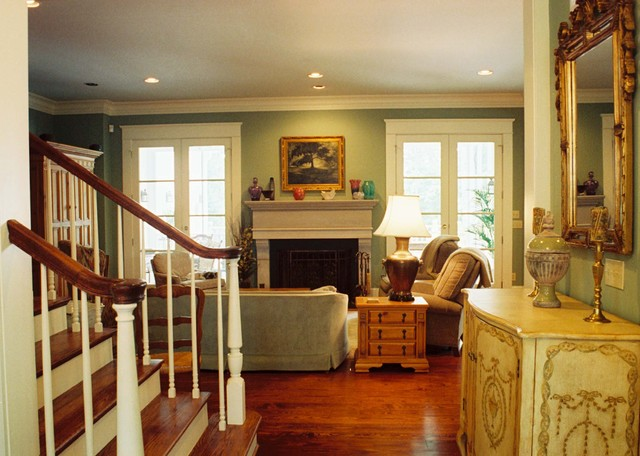 Acadian Home Living Room
