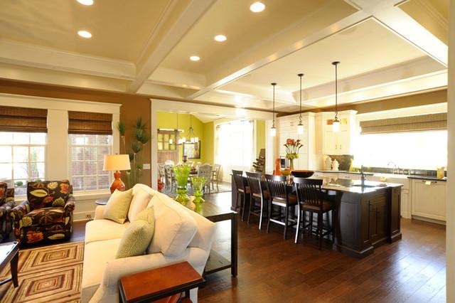 Ackerly Park ~ New Albany, Ohio modern-living-room