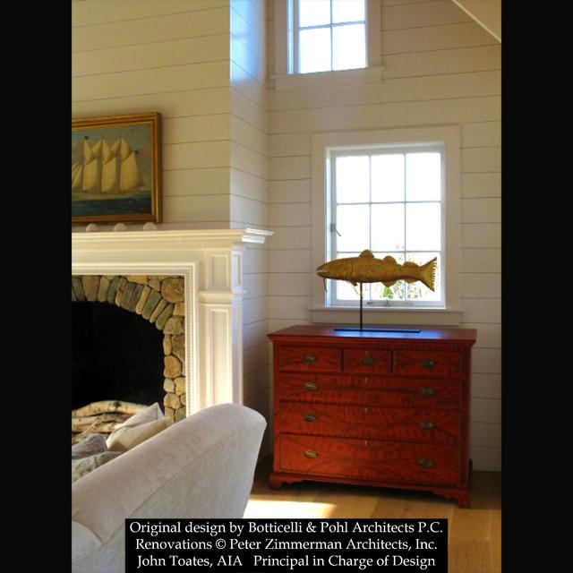 Addition and Renovation - Nantucket, MA living-room