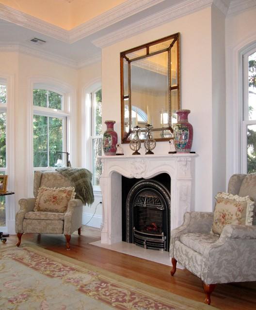 Addition and Renovation traditional-living-room