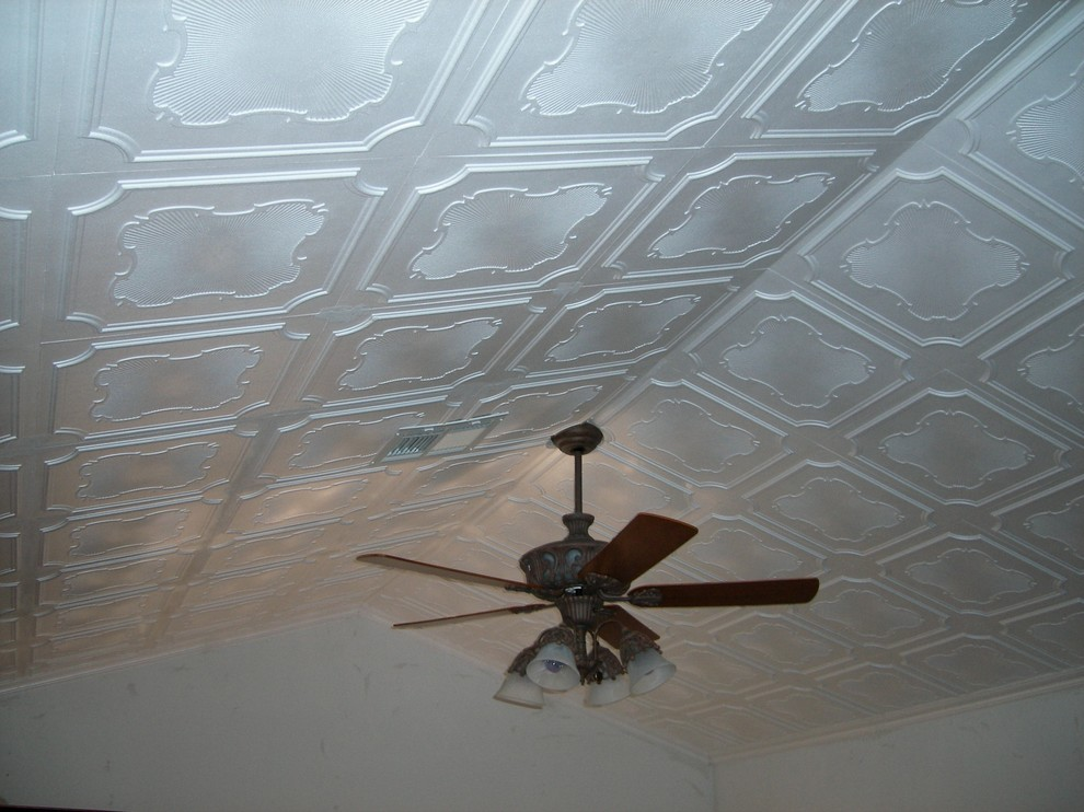 Affordable Diy Home Remodel With Decorative Ceiling Tiles Modern Living Room Miami By Ceiling Tiles By Us Inc