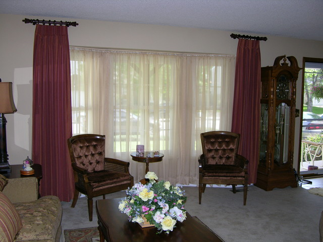 living room bay window treatments after bay window treatments transitional living room 20009