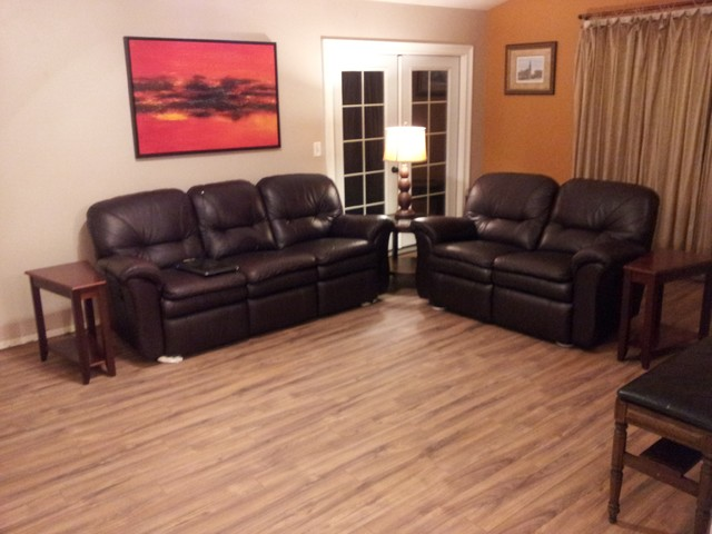 After Laminate Flooring In Living Room