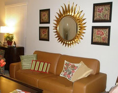 E-Decorating Before and After modern living room