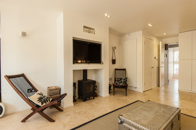 AG123_TwickenhamHome - Transitional - Living Room - London ...