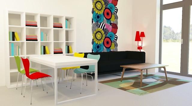 Agata Winer contemporary-living-room