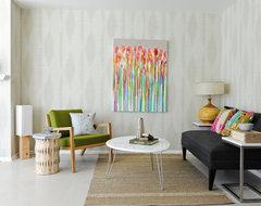 AGCTK: Entertainment Statement midcentury-living-room