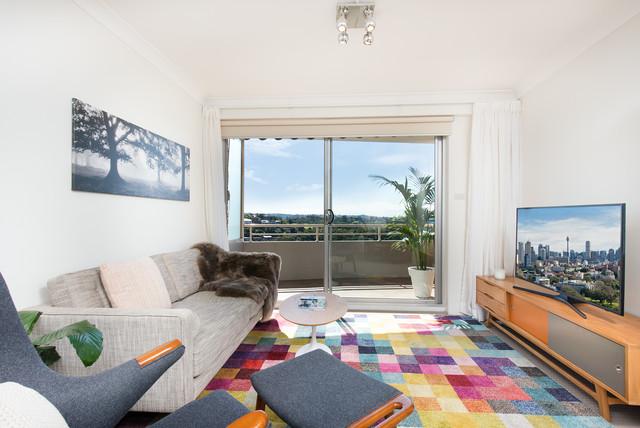 Airbnb Furnishing North SydneyContemporary Living Room, Sydney