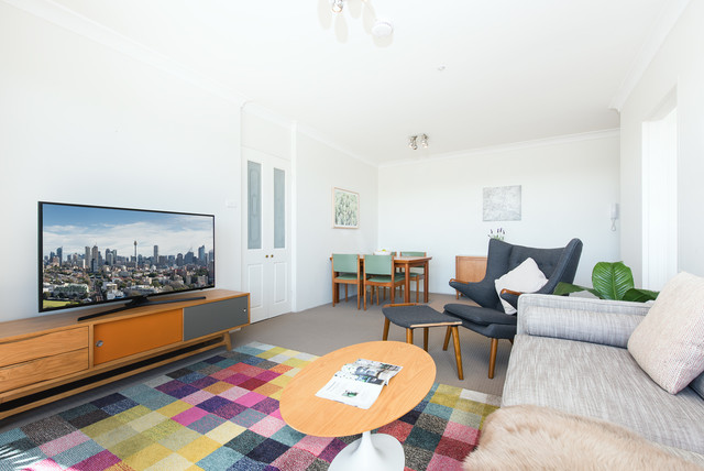 Airbnb Furnishing North Sydney Contemporary Living Room Part 35