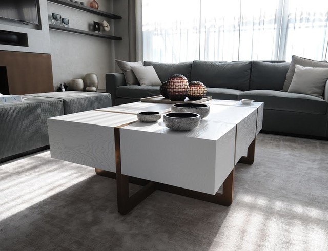 Airlie House Modern Living Room London By