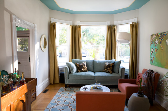 Alameda Residence eclectic-living-room