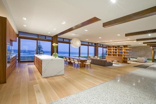 Albatross Avenue Nobby Beach Gold Coast Australia contemporary-living-room