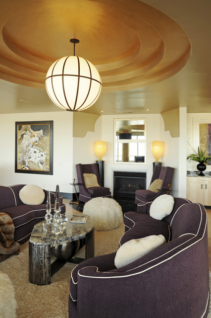 Albrecht Wood Interiors contemporary-living-room