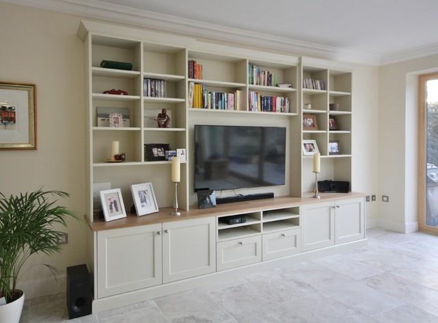 Traditional Living Room Tv alcove & tv units - traditional - living room - other -enigma