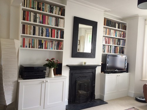 3 Ed Cupboards In Alcoves