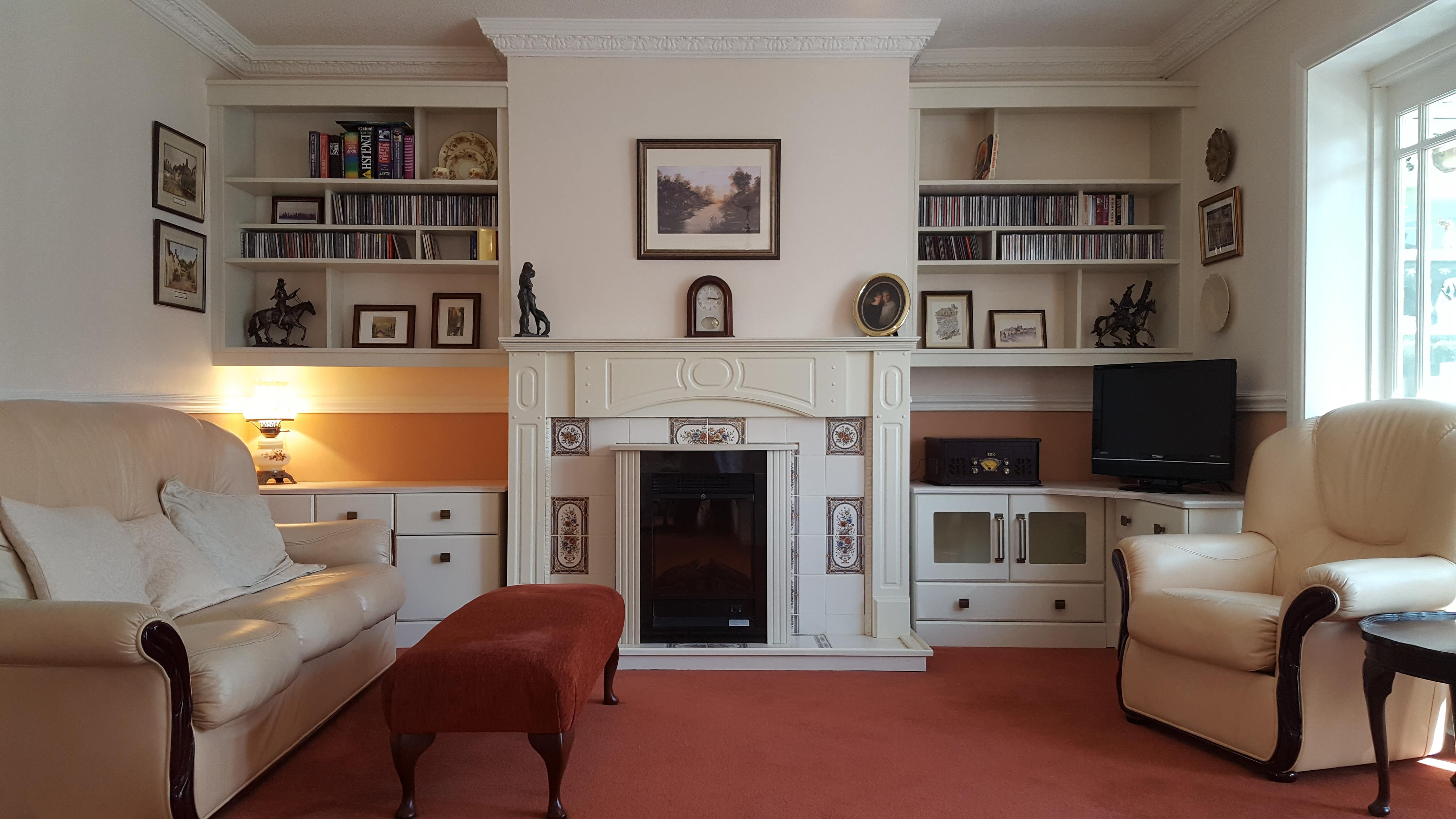 Alcoves for a Living Room