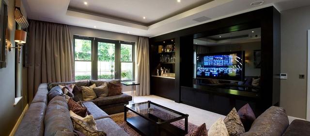High Quality Alderley Edge Private Residence Modern Living Room