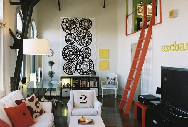 Alejandro Gallegos Portfolio eclectic-living-room