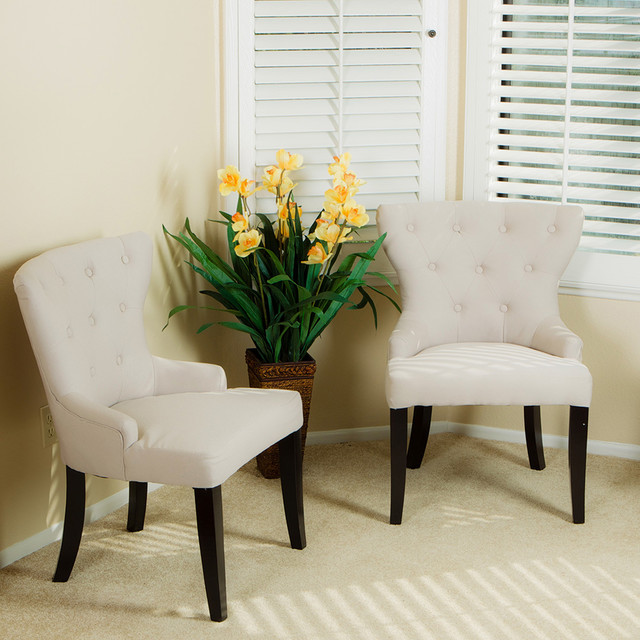 Accent Chairs For Living Room Alexia Accent Chair (Set of 2)Modern Living Room, Los Angeles