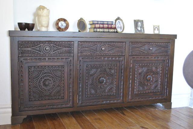Alhambre Panel Style Spanish Colonial Cabinets