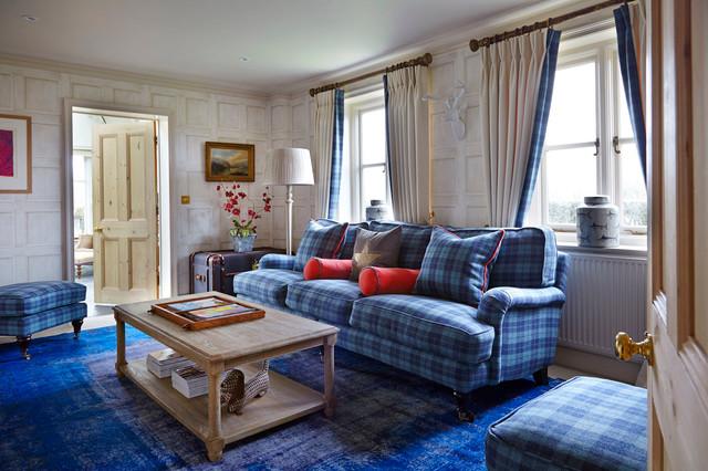 Ali Hamilton Interiorstraditional Living Room Berkshire