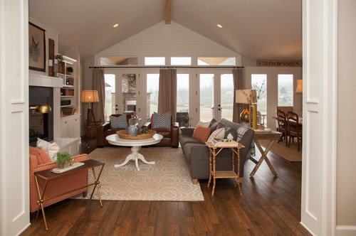 Family room furniture arrangement  an Ideabook by 22feetover