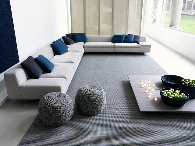 Ordinary Modern Pillows For Living Room Part - 4: ALLNEW Sofa From PAOLA LENTI Contemporary-living-room