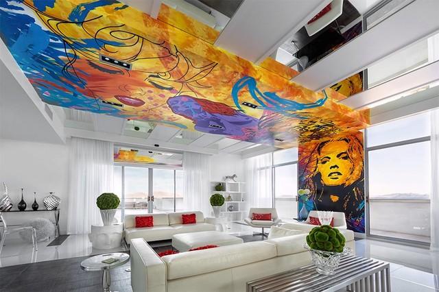 Allure contemporary-living-room