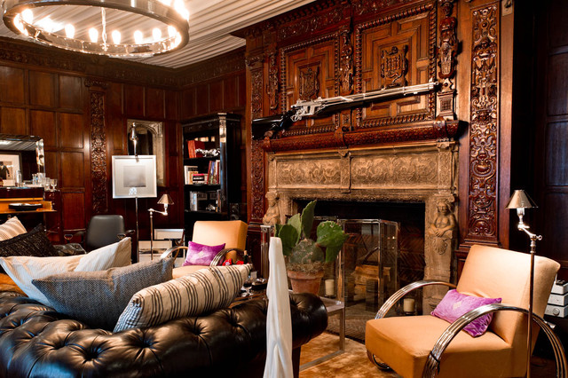 Ally coulter eclectic living room new york by for Ralph lauren living room designs