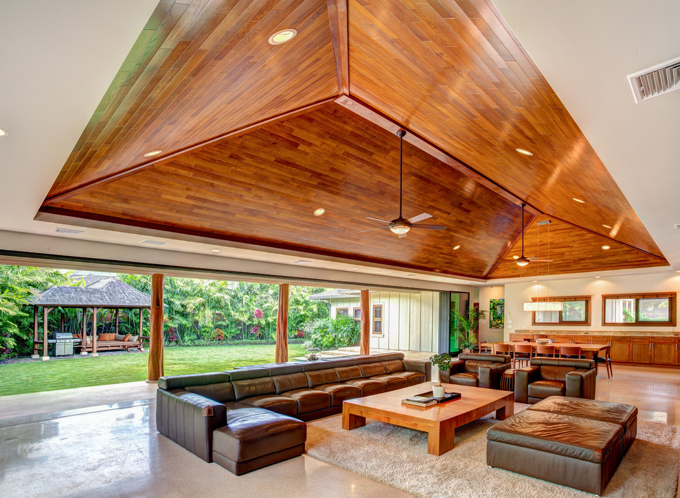 Aloha From Oahu Contemporary Living Room Hawaii By Western Window Systems
