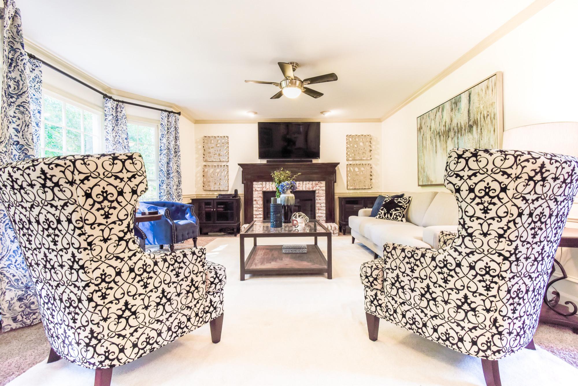 Alpharetta Living Room Redesign