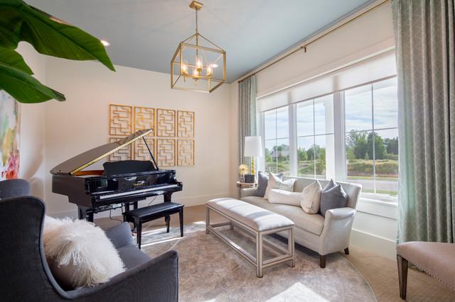 Alpine Modern Farmhouse Transitional Living Room Salt Lake City By Chelsea Kasch