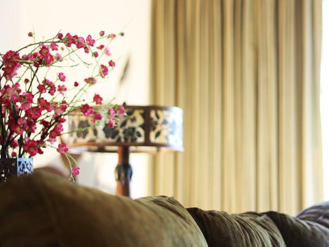 Altadena Private Residence mediterranean-living-room