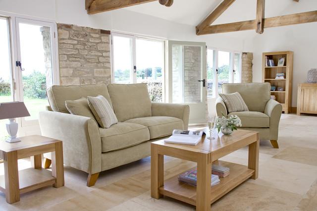 Alto Solid Oak Living Room Modern
