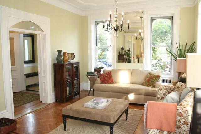 Amazing Corner Home  - Midtown Hoboken traditional-living-room