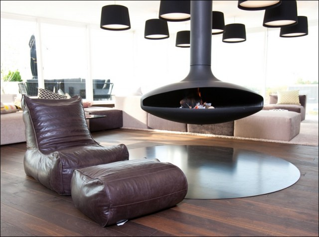 Ambient Lounge Denmark Showroom contemporary-living-room