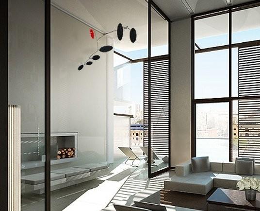 Amelia hanging mobile modern-living-room