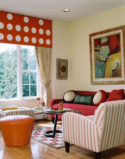 American & International Designs | Portfolio of Residential Interior Designs eclectic-living-room
