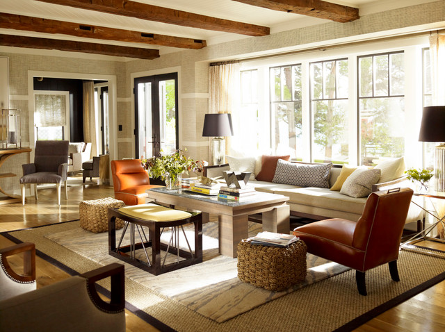 American beauty by thom filicia traditional living for Beautiful living rooms traditional