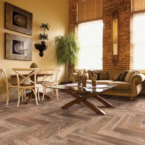 American Natural Tumbleweed Wood Plank Porcelain Tile