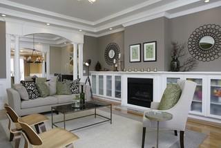 basement living room designs. Amoroso Design Traditional Living Room San Francisco by  DesignAmoroso Basement Designs Trendy living room photo in Edmonton
