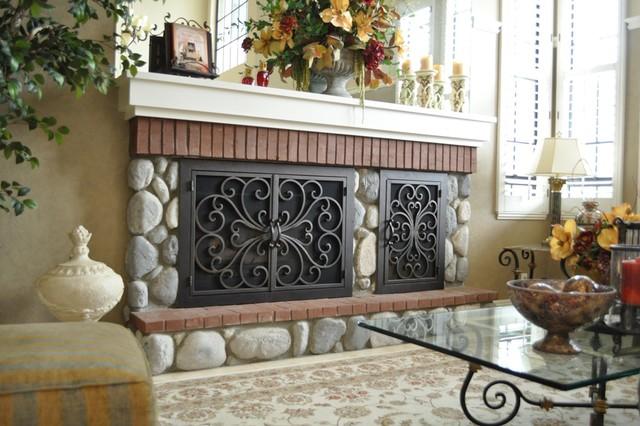 AMS - California transitional-living-room
