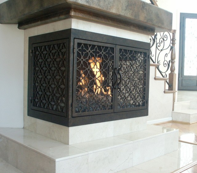 Ams fireplace doors remodel ideas mediterranean living room ams fireplace doors remodel ideas mediterranean living room teraionfo