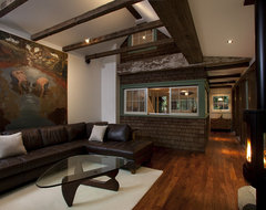 Amy Alper, Architect rustic-living-room