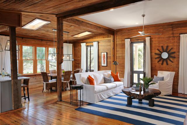 Amy Trowman Design - Beach Houses beach-style-living-room