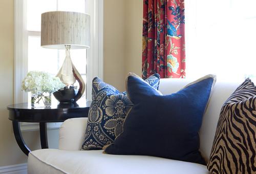 Eclectic Living Room by Irvine Interior Designers & Decorators Blackband Design