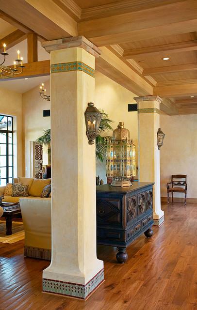 Andalusian Custom Home Eclectic Living Room Santa Barbara By Maienza Wilson
