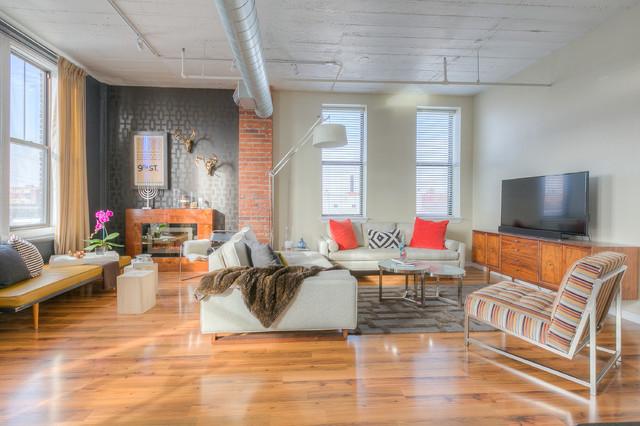 Anderson, Kansas City - Industrial - Living Room - Kansas City - by ...