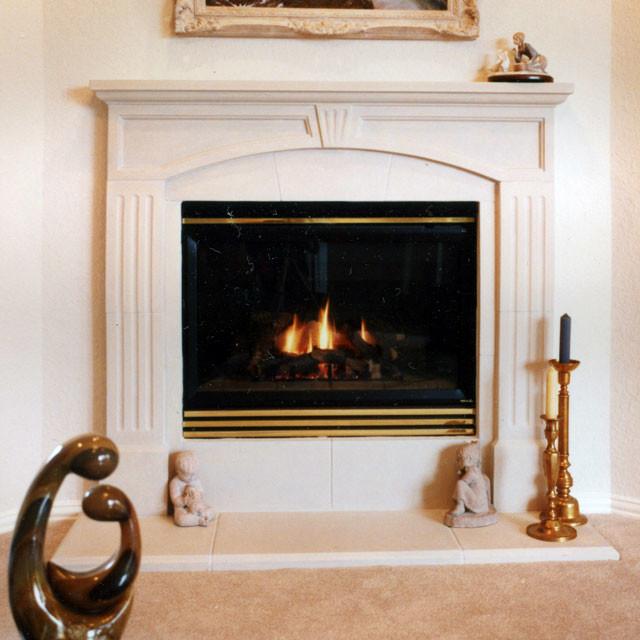 andrea fireplace mantel. Black Bedroom Furniture Sets. Home Design Ideas